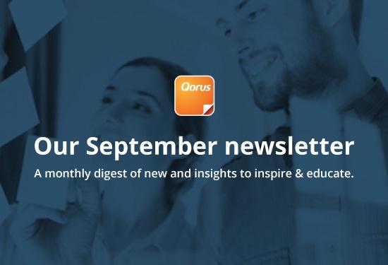 Qorus september newsletter