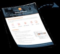 Qorus for proposal management solution overivew