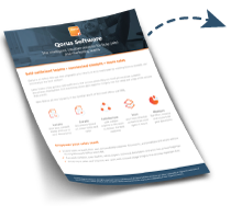 Qorus for sales enablement overview