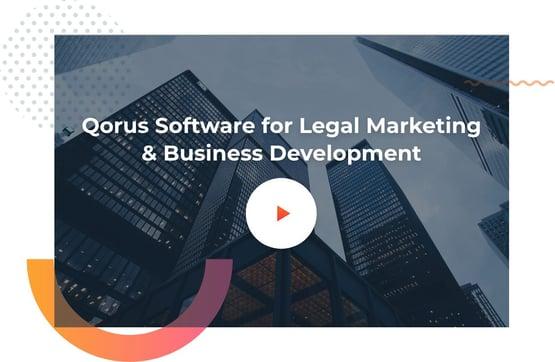 Qorus for Legal Marketing and Business Development