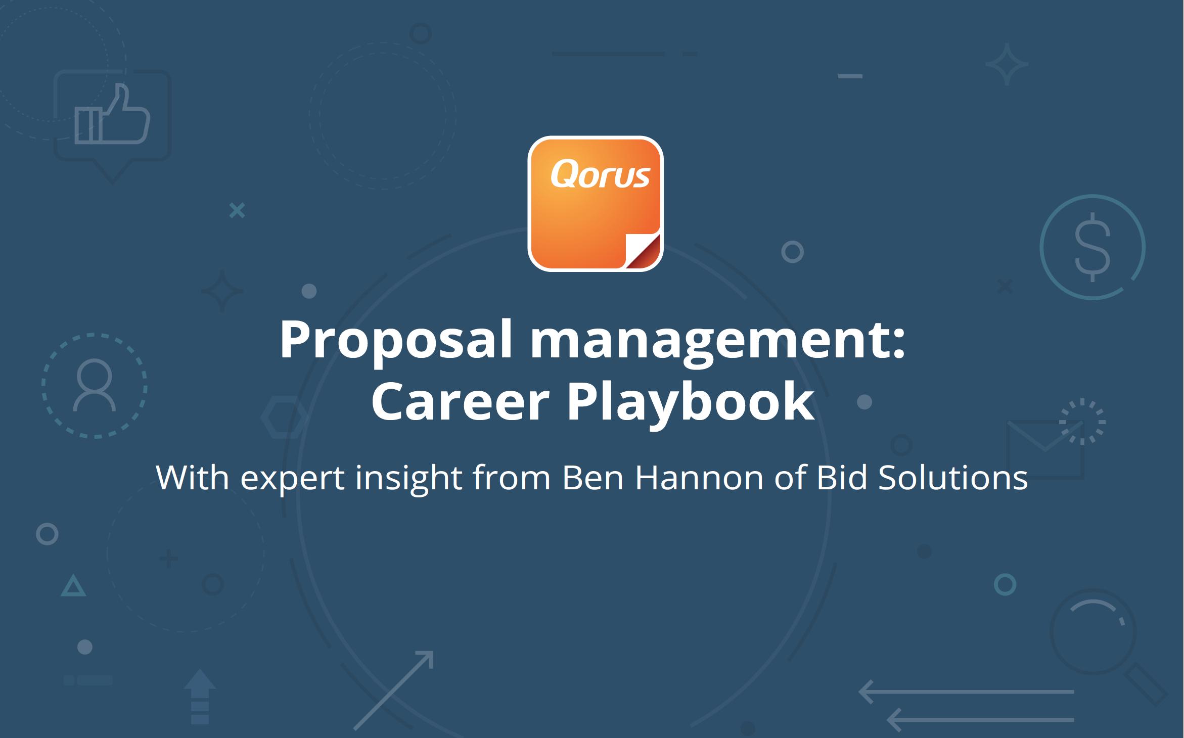 Proposal Management: Career Playbook