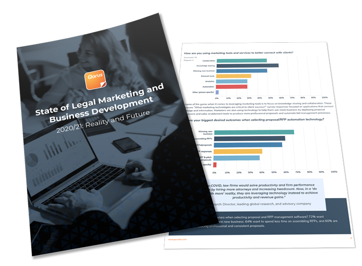 State of Legal Marketing and Business Development