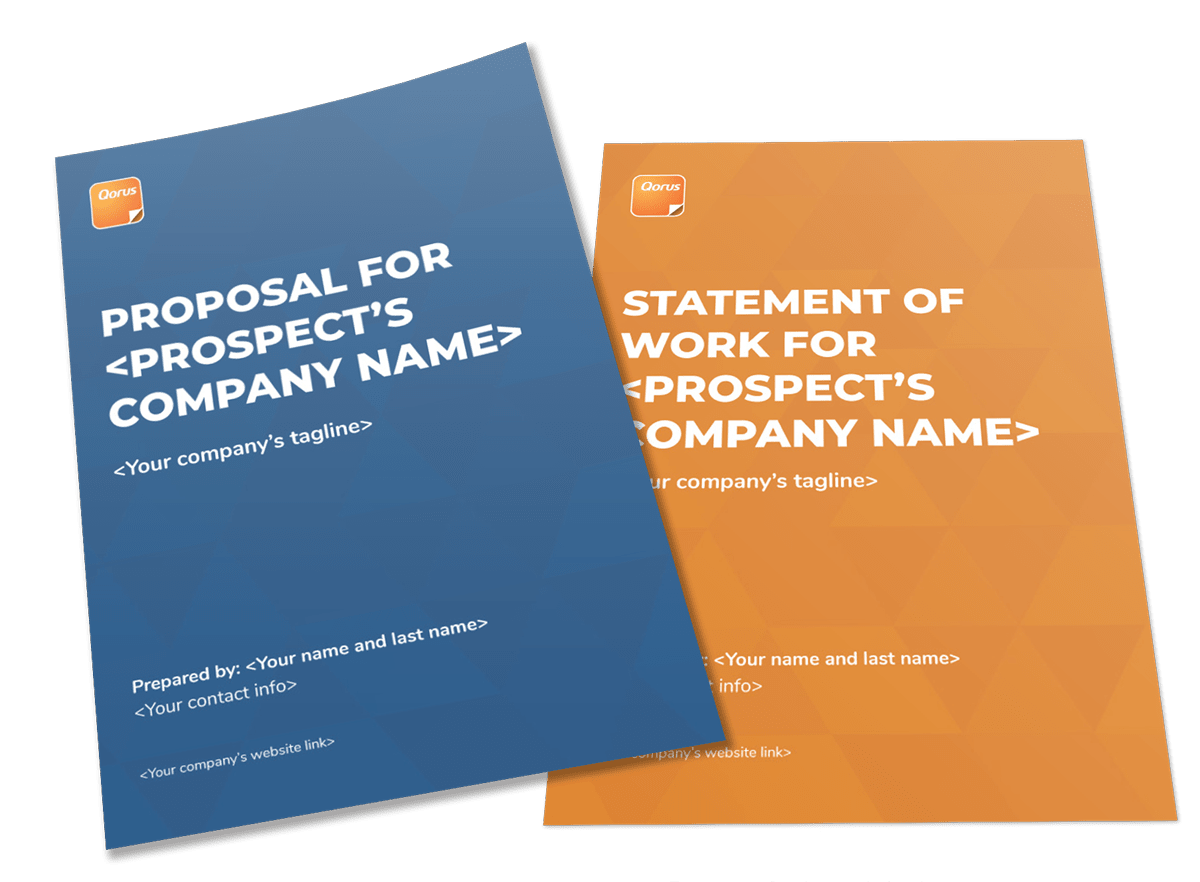 Proposal and SoW templates