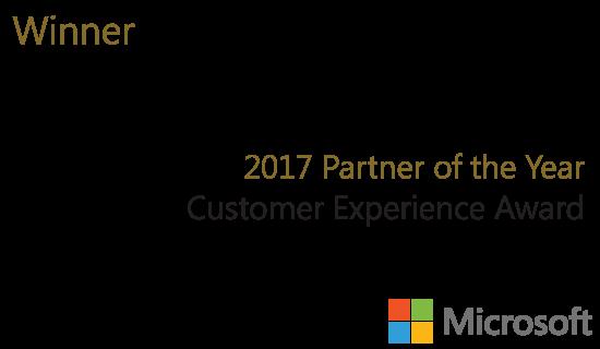 Qorus wins 2017 Partner of the year Microsoft