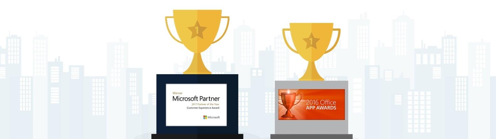Qorus Microsoft Awards