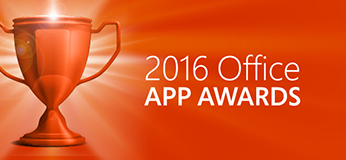 Qorus wins 3rd place in 2016 Office App Awards