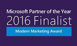 Microsoft Partner of the Year 2016 Finalist