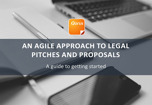 An Agile Approach to Legal Pitches and Proposals guide