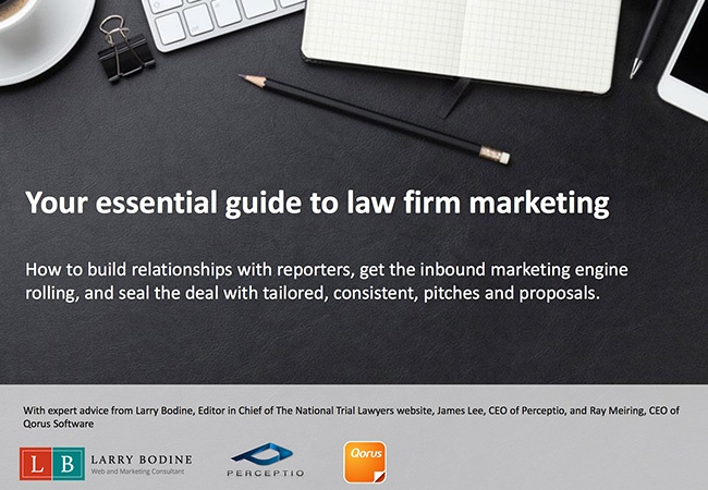 Your Essential Guide to law firm marketing cover