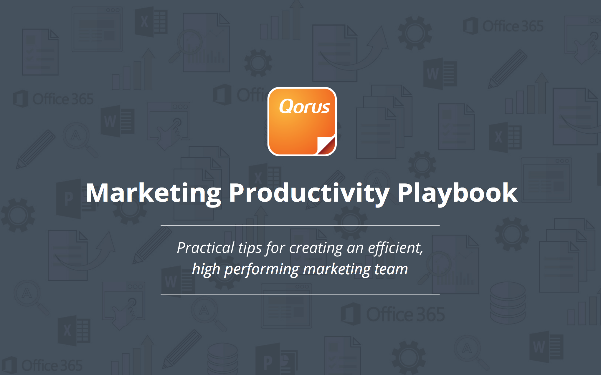 Qorus Productivity Marketing Playbook