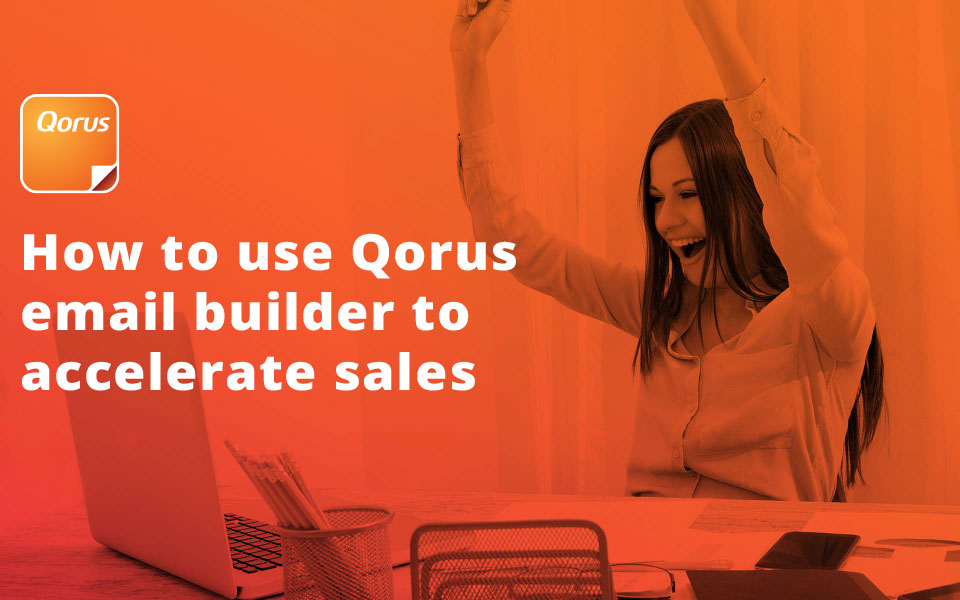 Qorus email builder how to guide cover