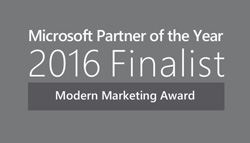 Microsoft Modern Marketing Finalist 2016